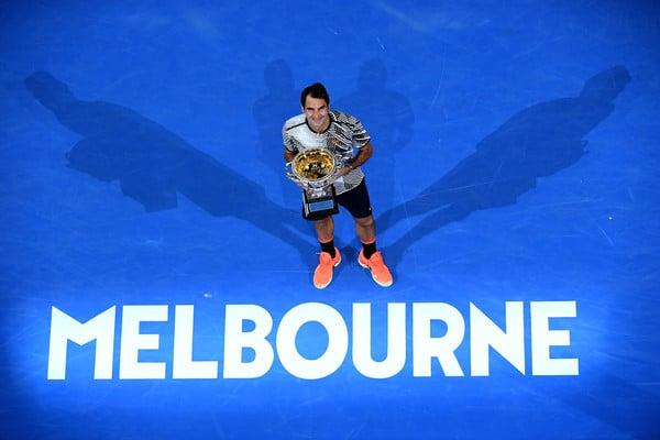 Federer Australian Open Winner 2017