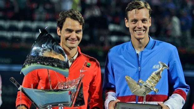 Federer Berdych Dubai