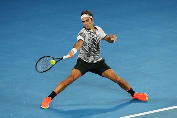 Federer Forehand vs Nadal AO