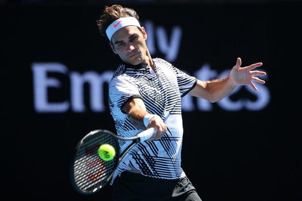 Federer Round 2 AO 2017