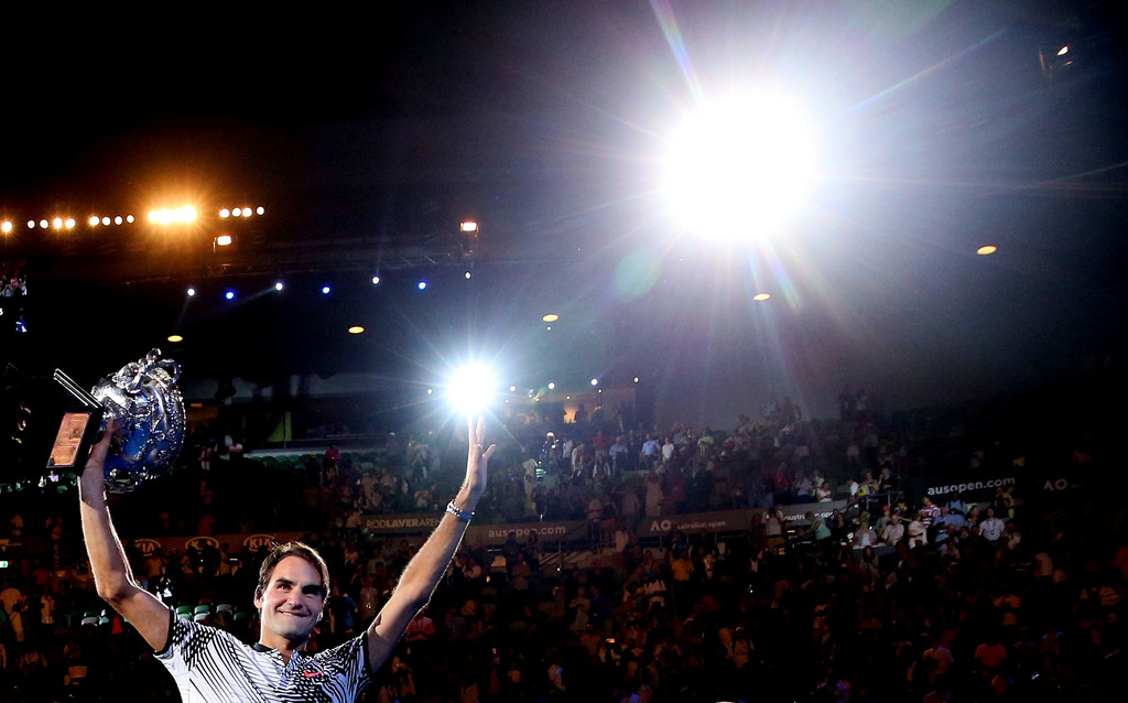 Photo of Unbel18vable Federer Wins 5th Australian Open Title