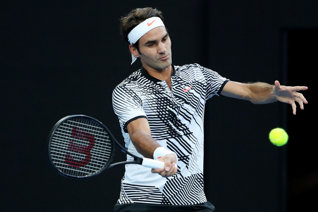 Federer Zverev Australian Open 2017