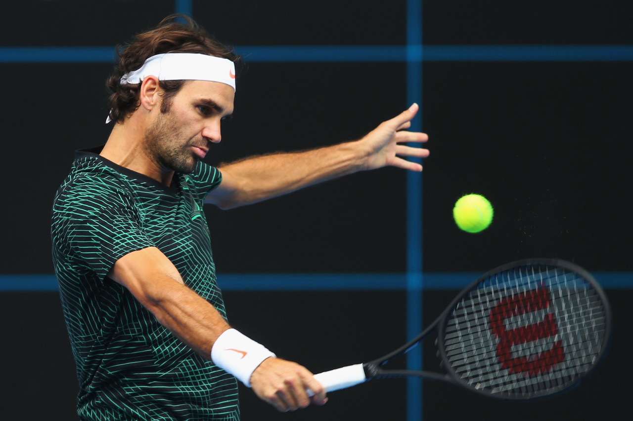Roger Federer Australian Open Outfit 2017