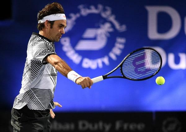 Federer Paire Dubai 2017