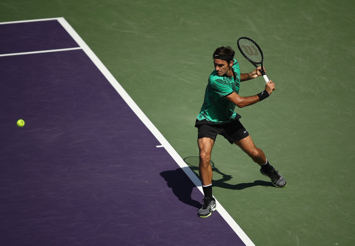 Photo of Federer Coasts Past Del Potro at Miami Open