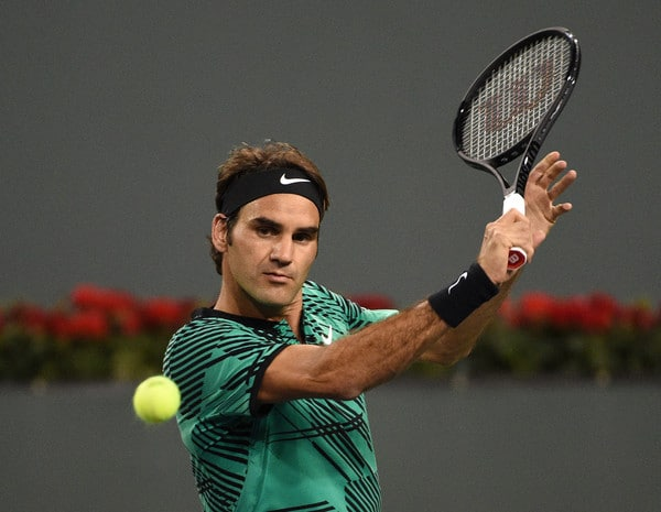 Federer Indian Wells 2nd Round 2017