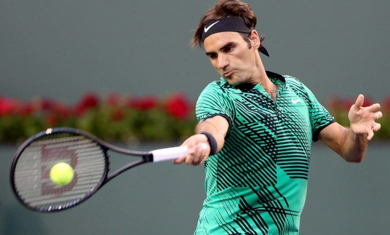 Federer Johnson Indian Wells
