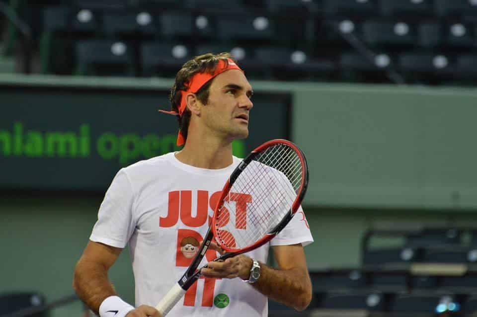 Federer Miami Tennis