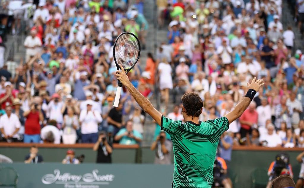Federer Nadal Indian Wells 2017