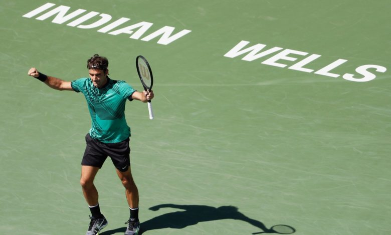 Federer into Final Indian Wells 17