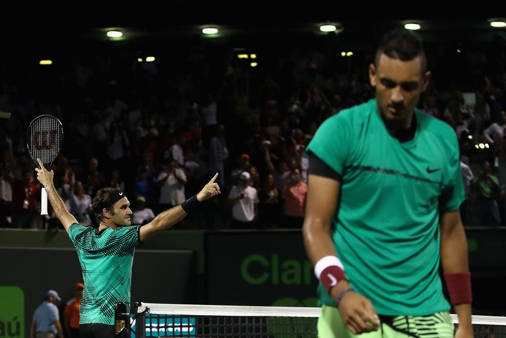 Photo of Federer Fights Past Kyrgios To Make Miami Open Final