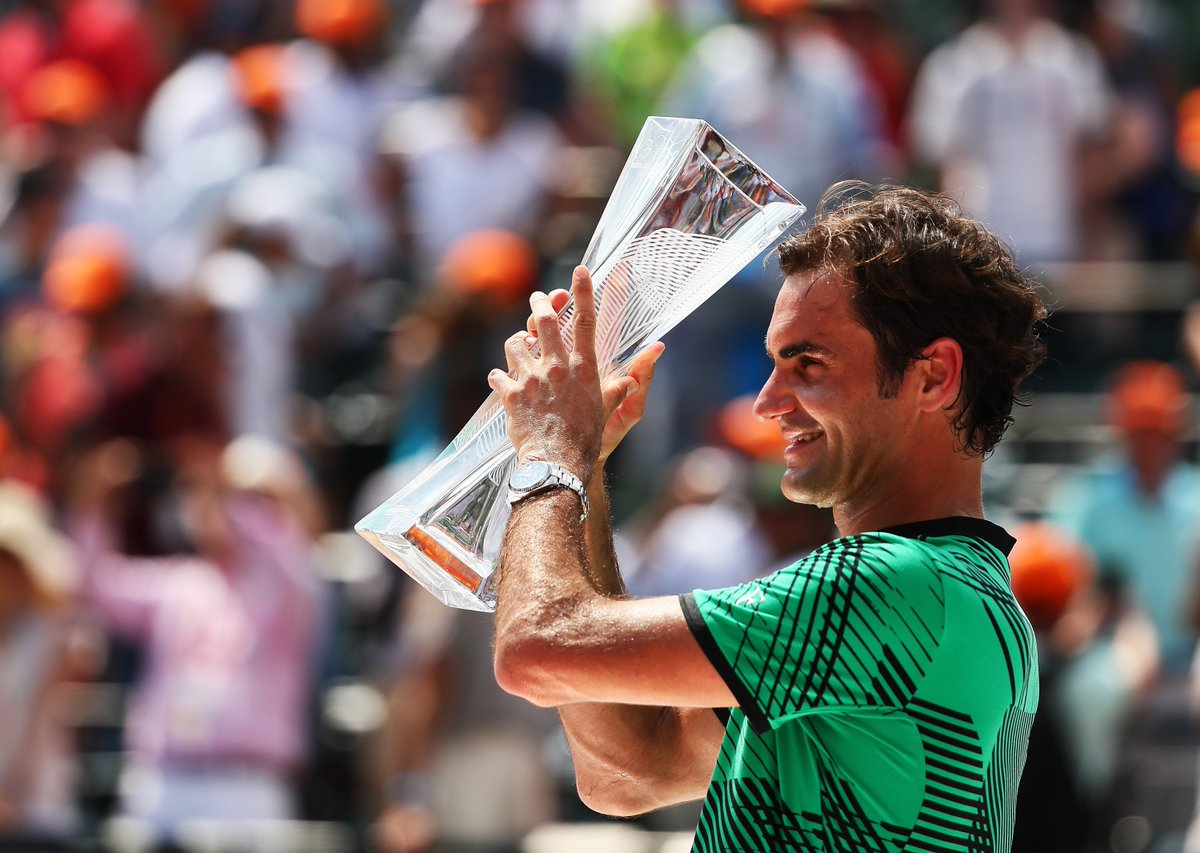 Photo of Magnificent Federer Wins Miami Open To Complete Sunshine Double