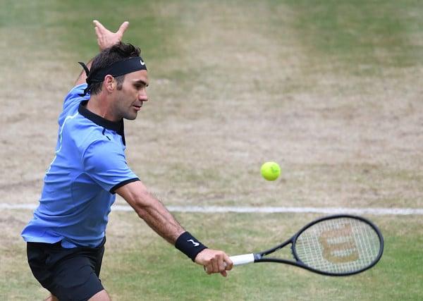 Federer Khachanov Halle 2017