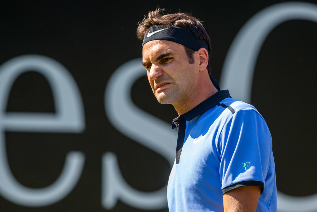 Photo of Federer Falls To Haas in Stuttgart Opener