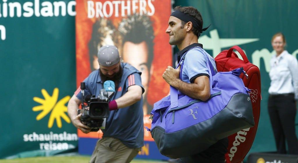 Federer M Zverev Halle 2017