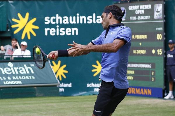 Federer Mischa Halle 2017