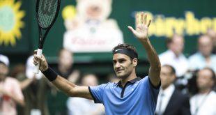 Federer Sugita Halle 2017