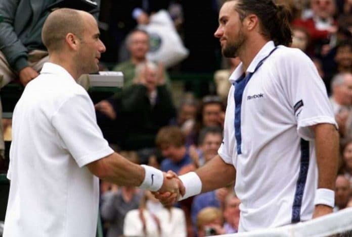 Patrick Rafter Andre Agassi