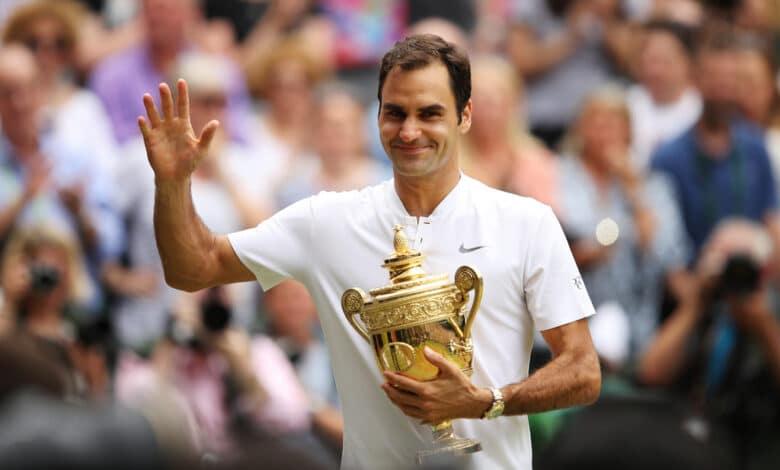 Federer 8th Wimbledon