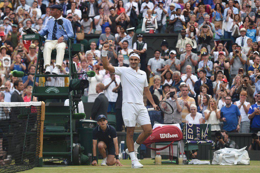 Federer Def Zverev Wimbledon 2017