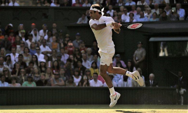 Federer Raonic Wimbledon QF 17