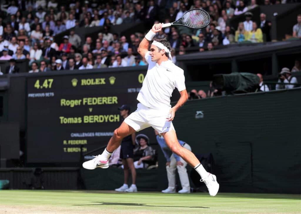 Federer Wimbledon 2017 Semi Final