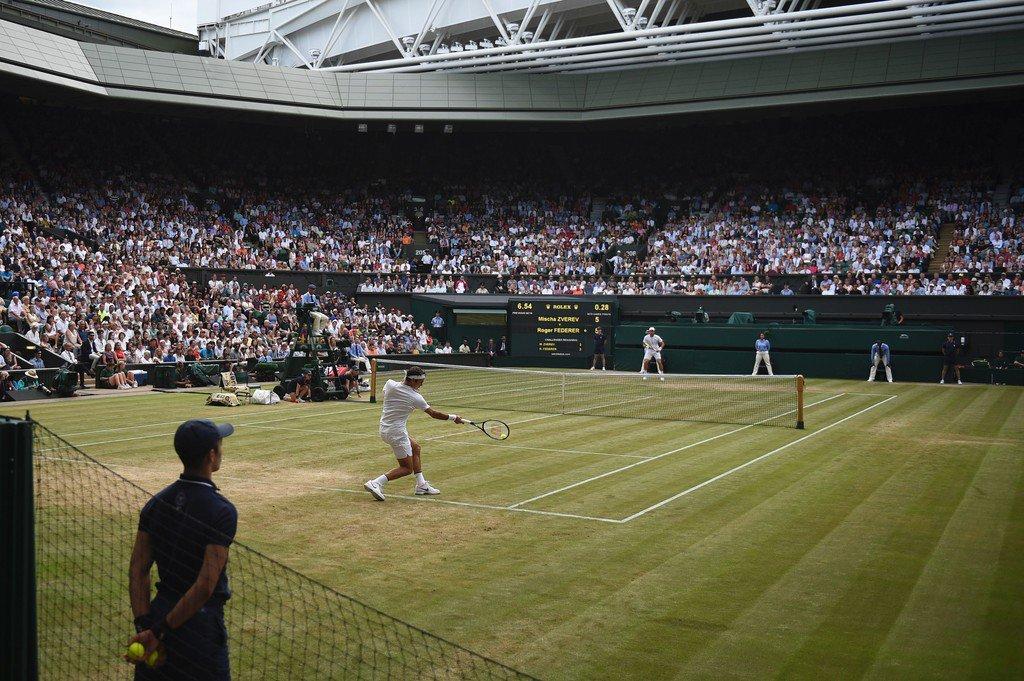 Federer Zverev 3rd Round SW19