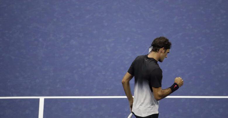Federer Tiafoe US Open 2017