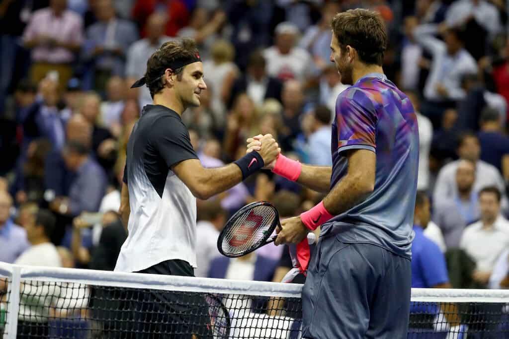 Federer Del Potro US Open 2017