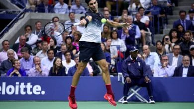 Federer US Open Quarter Final 2017