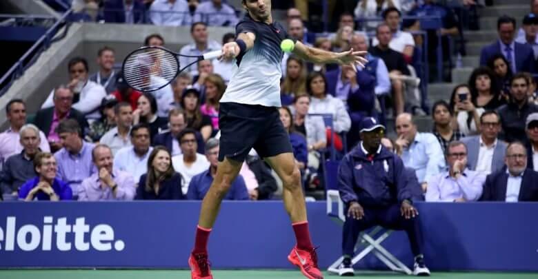 Federer US Open Quarter Final 2017