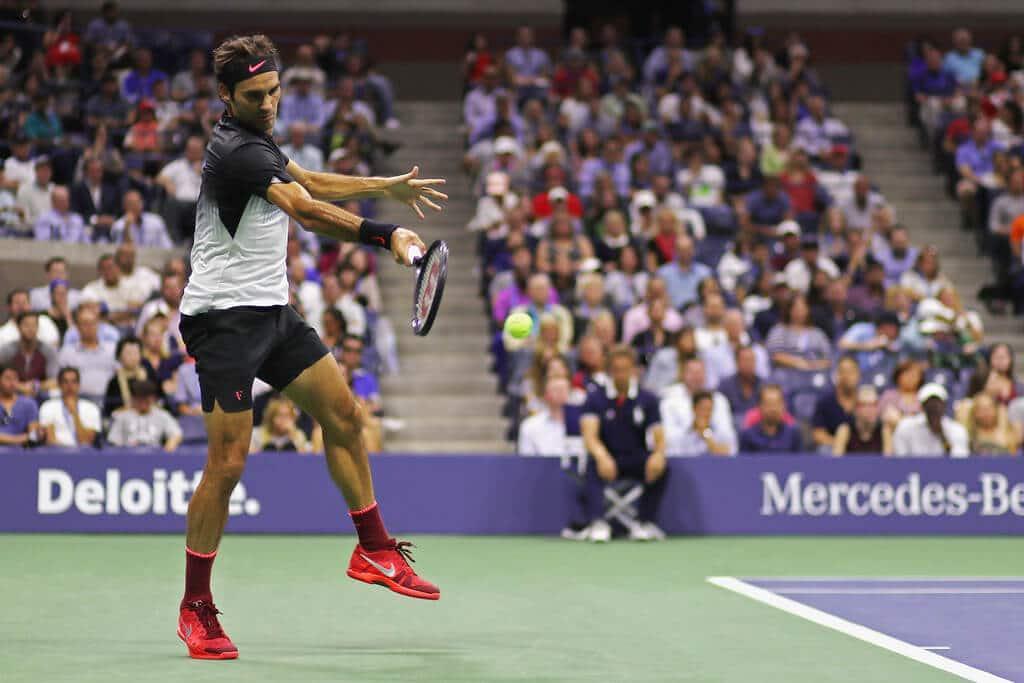 Federer vs Kohlschreiber USO 2017