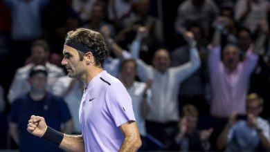 Photo of Federer Withstands Mannarino Charge in Basel