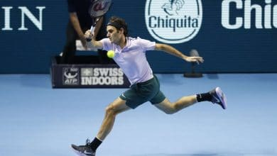 Photo of Federer Breezes into Basel Final with Goffin Demolition