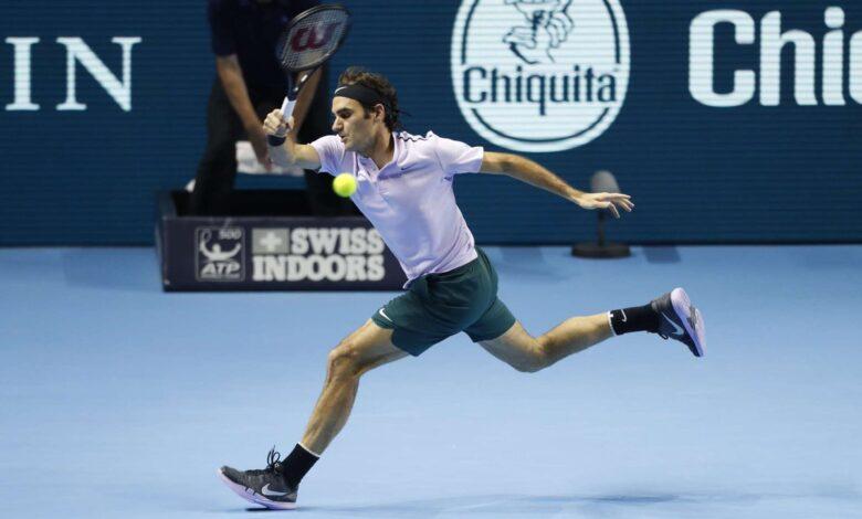 Federer Goffin Basel Semi Final 2017