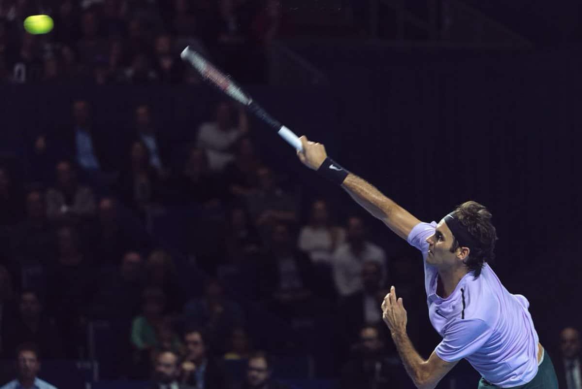 Speedy Federer