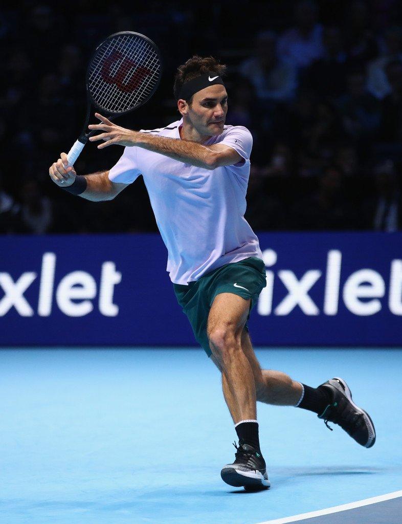 Federer 1st Match WTF 2017