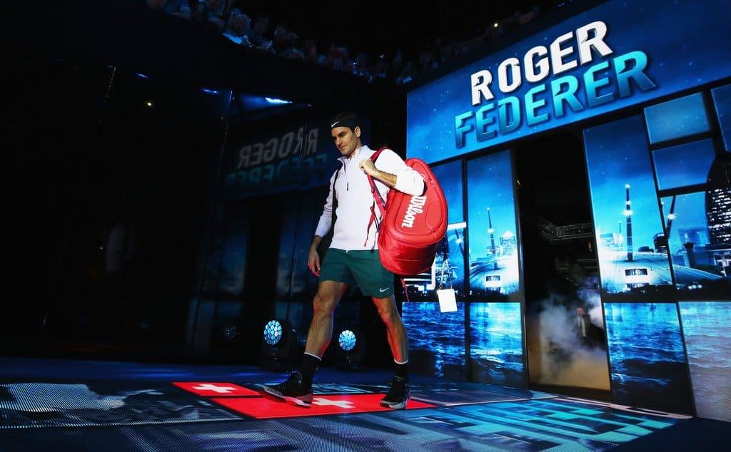 Federer WTF 2017 Sock