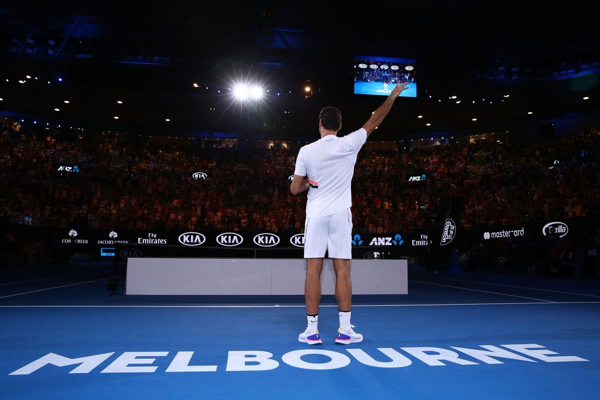 Federer 20th Slam Title