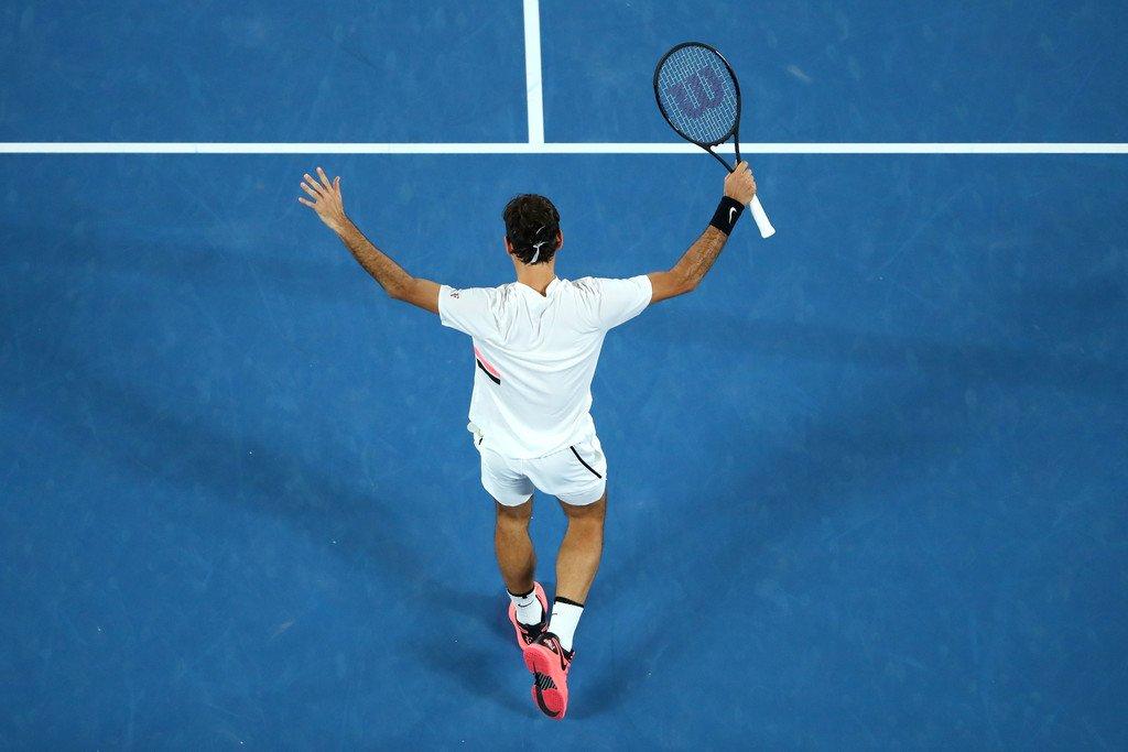 Federer Berdych Aus Open 2018