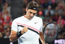 Federer defeat Gasquet AO 2018