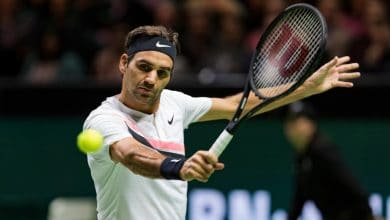 Photo of Flying Federer Pummels Bemelmans in Rotterdam Opener
