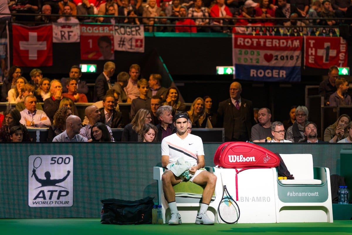 Federer Rotterdam Semi Final 2018