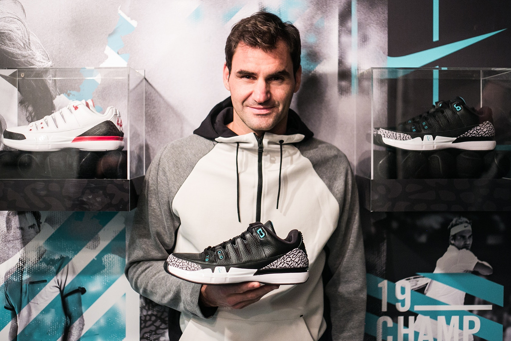 Manchuria Discriminatorio Corrección  Roger Federer's Outfit for Indian Wells and Miami 2018 - peRFect Tennis