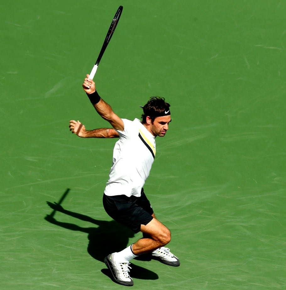 Federer Chardy Backhand
