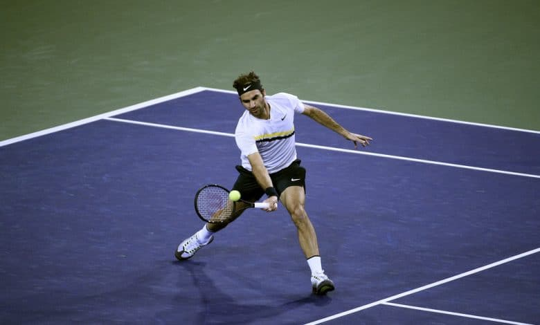 Federer Chung Indian Wells