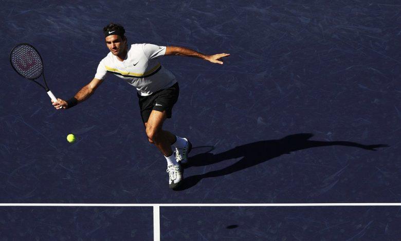 Federer Krajinovic IW 2018
