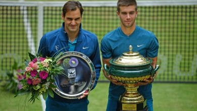 Photo of Coric Takes Down Federer to Win Maiden Grass Court Title in Halle
