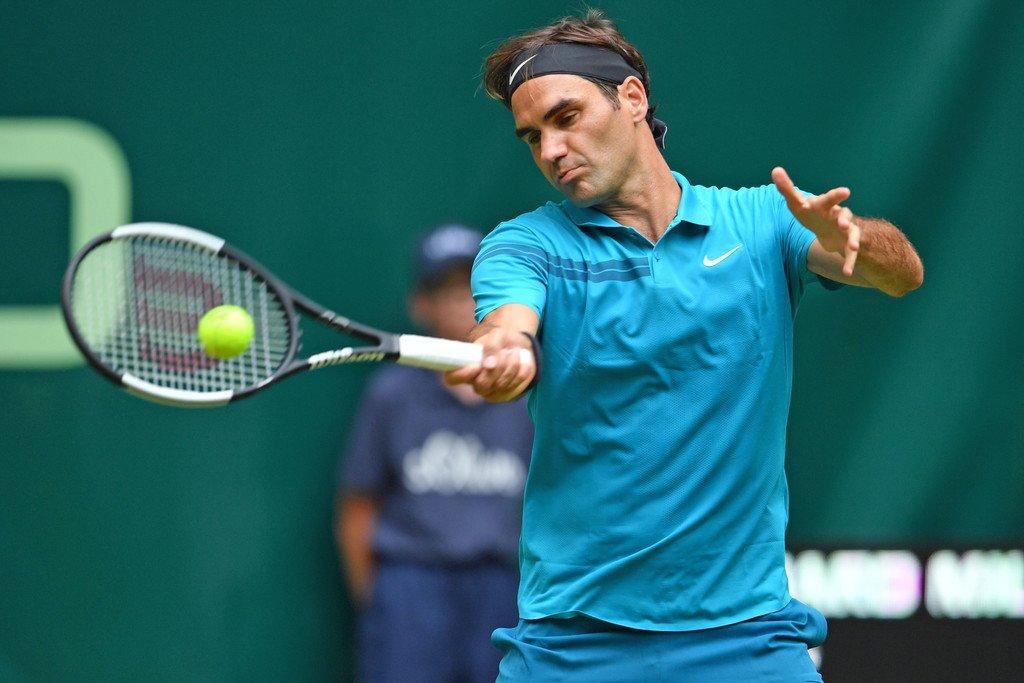 Federer Bedene Halle