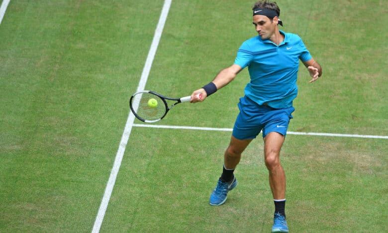 Federer Ebden Halle 2018